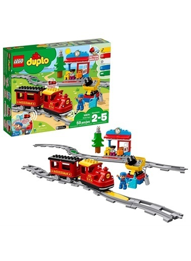 Lego LEGO Duplo Buharlı Tren Renkli